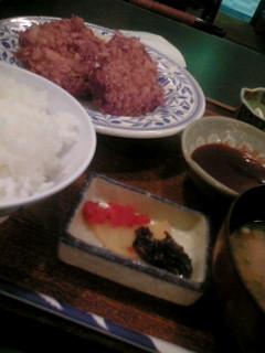 北海道料理雪国の十勝コロッケ定食