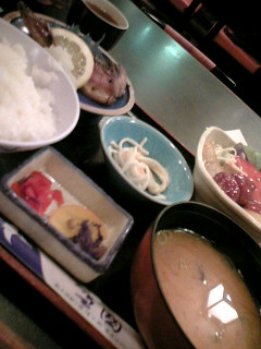 北海道料理雪国の日替わり定食