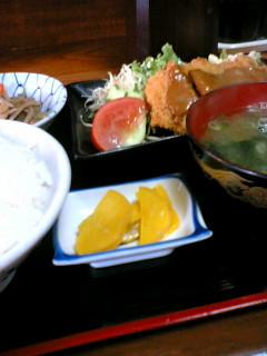 お食事処たじまの日替わり定食