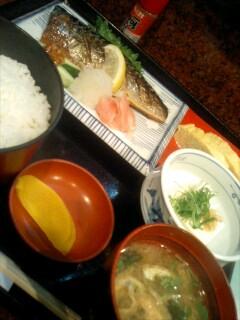 割烹「吉野」の焼き魚定食