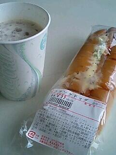 今日の朝ご飯