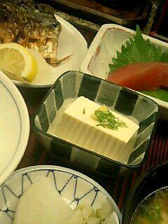 活魚料理「磯」のおふくろ定食