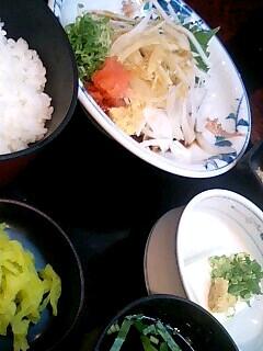 割烹「吉野」の鰹のたたき定食
