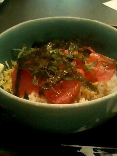 北海道料理「雪国」のマグロ丼