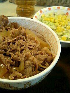 すき家の牛丼