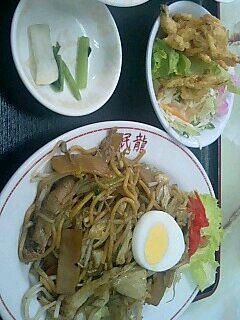 中華料理「眠龍」の日替わり定食