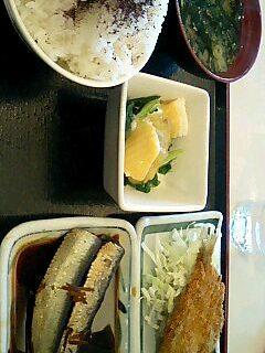 めしや食堂の自作定食