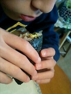 巻き寿司の丸かぶり