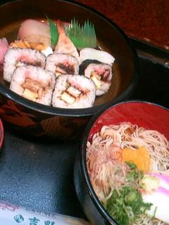 割烹「吉野」の今月のサービス定食