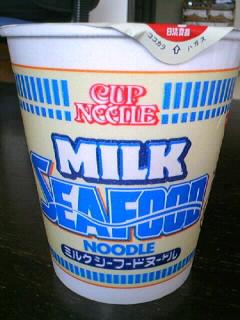日清 ミルクシーフードヌードル