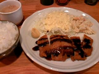和牛串処「西や」の500円ランチ
