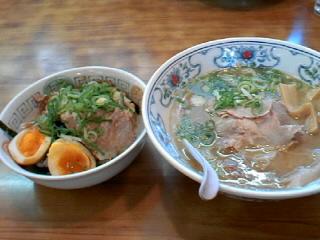 チャイニーズレストラン大雅のチャーシュー丼定食