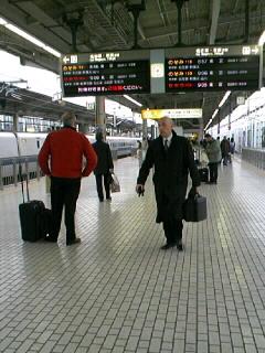 東京出張です