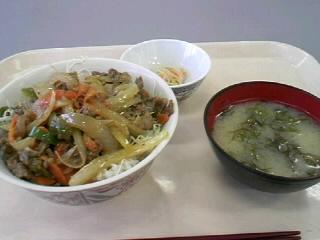 韓国風焼肉丼