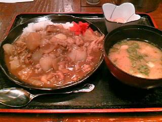 北海道料理「雪国」のカレーライス