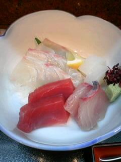 割烹「吉野」のお造り定食