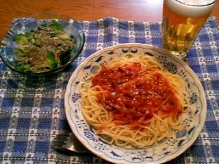 スパゲティ ミートソース