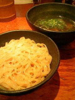 「らーめん屋 上方 段七」のつけ麺