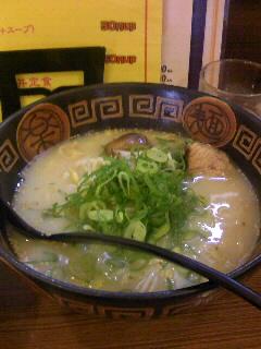 にんにくラーメン幸ちゃんのラーメン定食