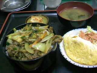お食事処「焼肉 龍」の焼肉丼