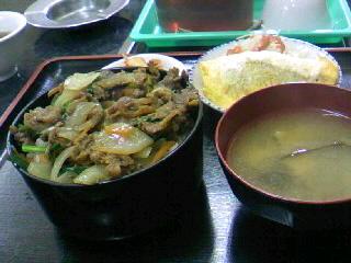 焼肉「龍」の焼肉丼