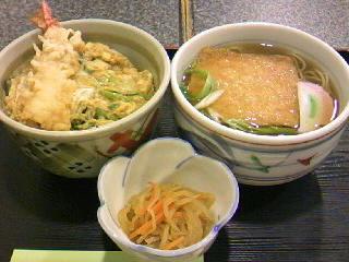 お食事処「太郎庵」のサービスセット