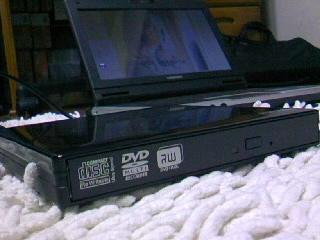 BUFFALO ポータブル DVD ドライブ