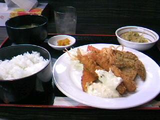 お食事処&喫茶「いづつ」のAランチ