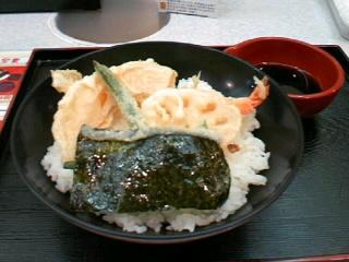 えび天丼専門店「あっぱれ天風」のやさい天丼