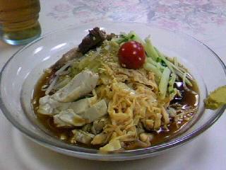 中華料理「新天龍」の冷やし中華