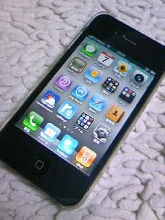 iPhone4をゲットした(^_^)V