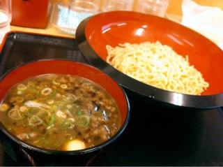 道楽うどんの和牛つけ麺