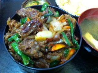 お食事処 焼肉「龍」の焼肉丼