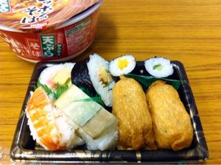 ココストアの寿司盛合せ
