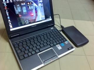 BUFFALO USBポータブルハードディスク