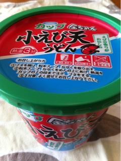 徳島製粉 金ちゃん 小えび天うどん