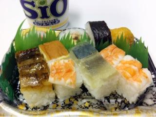 ハート・インで購入した大阪寿司