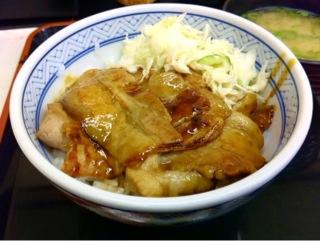 吉野家の豚丼