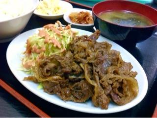 焼肉「龍」の焼肉定食