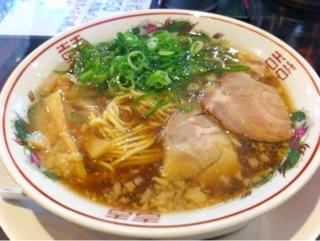中華そば ふじいの昼飯セット