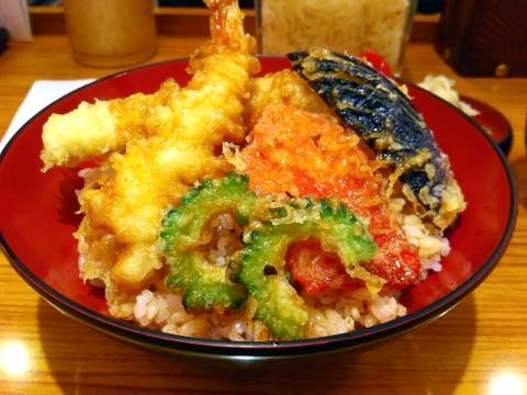 丼丼亭の夏天丼