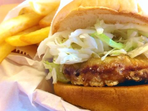 モスバーガー の豚天バーガーのポテトSセット