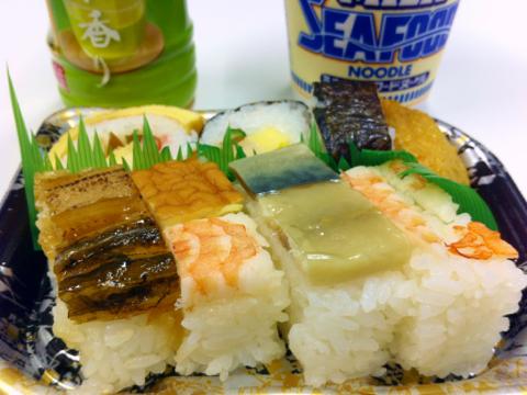 ハート・イン の大阪寿司&ミルクシーフードヌードル