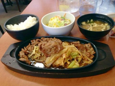 東京チカラめしの焼肉定食