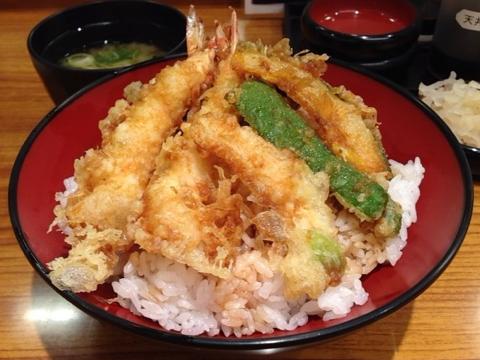 天丼専門店 丼丼亭の秋天丼