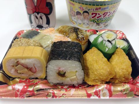 ココストアの大阪寿司盛合せ