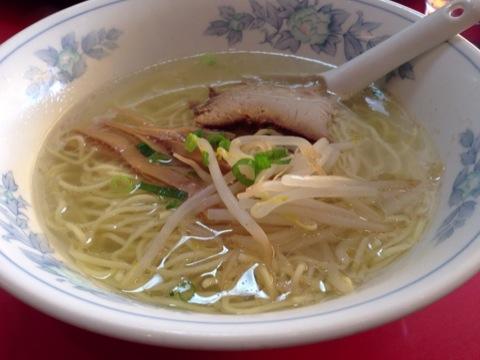 中華料理 福城のラーメン&麻婆丼セット