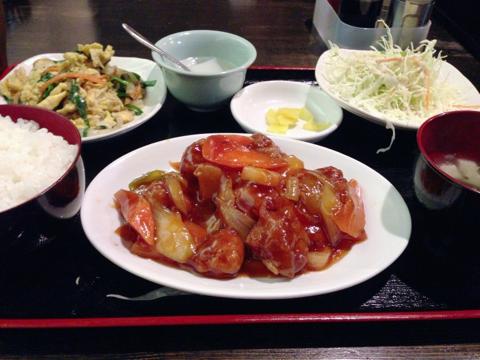 中華料理 福華のサービスランチ
