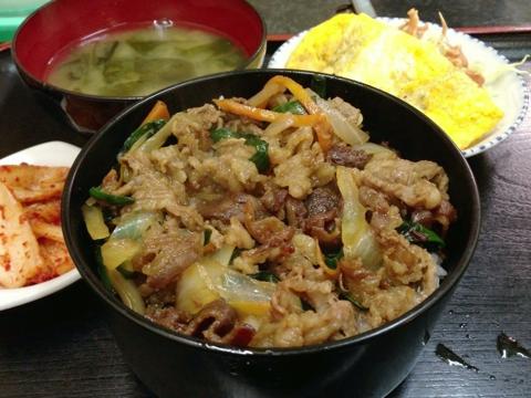 焼肉 龍の焼肉丼