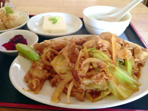 中華料理 和興の日替り定食